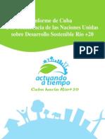 Informe Cuba a Rio+20