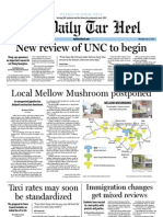 The Daily Tar Heel for June 21, 2012