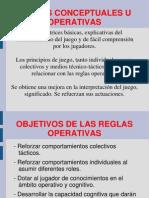 3.- Reglas Operativas Del Juego