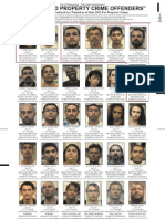 Property Crime Offenders June 2012