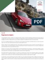 Press Kit+ Toyota GT86