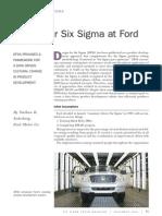 Ford DfSS