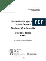 Plantas de Filtracion Rapida - Manual I Teoria
