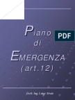 Piano Emergenza Di Luigi Abate