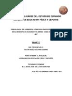 Examen Profesional Victor Hugo Chavira Aguirre