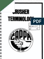 Crusher Terminology