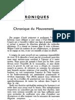 Esprit 1 - 19321001 - Chronique Du Mouvement