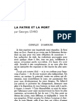 Esprit 1 - 19321001 - Izard, Georges - La Patrie Et La Mort I