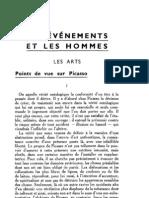 Esprit 1 - 19321001 -  Monléon, Jacques de  - Points de vue sur Picasso