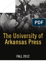 University of Arkansas Press Fall 2012 Catalog