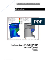 Pro Engineer 2001 Mechanica Structure Thermal