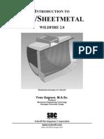 Pro Engineer Wildfire 2.0 Sheetmetal