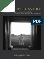 Sites of Slavery by Salamishah Tillet