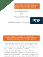 DISEÑO DE COLUMNAS DE CONCRETO ARMADO SOMETIDASA FLEXOCOMPRESION1