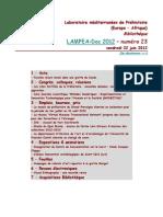 LAMPEA-Doc 2012 – numéro 23 / vendredi 22 juin 2012