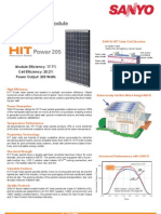 HIT Power 205 Data Sheet-48678675