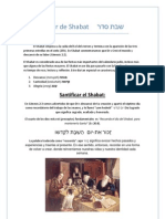 Seder de Shabat     סדר שבת