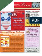 2012 July Newsletter