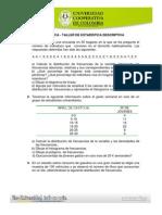 Taller de Estadística Descriptiva 2