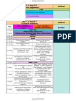 Schedule MOSC2012 - Event Schedule For Malaysia Open Source Conference