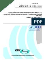 GSM 03.19