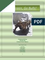 Go Green Go Bulls Final