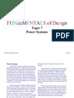 Fundamentals Topic 7