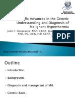 [4]Scientific Advances in Malignant Hyperthermia