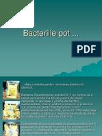 Bacteriile Pot