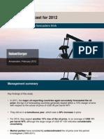 Oil Price Forecast 2012