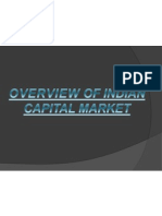 Overview of Indian Capital Market