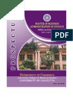 Prospectus 2011-13 Mbaf