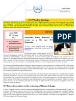 OTP Weekly Briefing 12-19 June 2012 #125