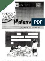 PELA ECE 2° prim matematica cuadernillo2