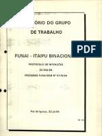 Relatório Funai-Itaipu