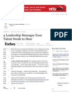 4 Leadership Messages Your Talent Needs to Hear - Forbes
