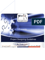 Project Designing Guidelines