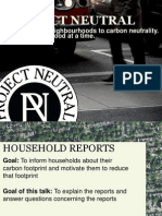 Understanding Your Household Footprint Report - Omar Khan, Project Neutral