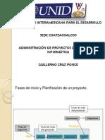 Fases de Inicio y Definición del Alcance. PMI