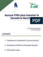 Apoyos FIRA a Ganaderia - Presentacion en CNOG