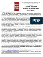 Cartel Informativo Taxco
