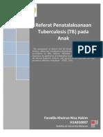 Referat Manajemen TB Anak
