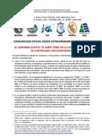 Comunicado Oficial del Enfen Nº 06 22062012 confirman Niño