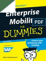 SAP Enterprise Mobility for Dummies Guide