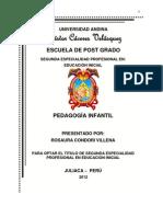 Monografia Pedagogia Infantil Corregido