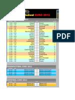 Jadwal Euro 2012 Excel 2