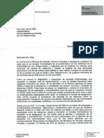 Respuesta del Ministerio de Ana Mato