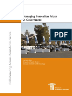 Managing Innovation Prizes in Government