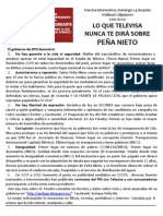Cartel Informativo Tampico