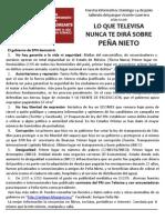 Cartel Informativo Toluca